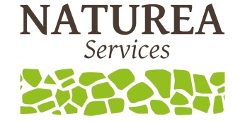 logo Naturea services avec fond sans adresse
