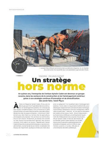 ARTICLE LE MONDE DES ARTISANS1